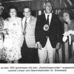 1973 Oberkreisdirektor Dr. Grünewald