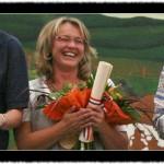 2010 Michaela Kaufmann ( 15 Jahre Bedienung beim Dräulzer Landfrauenkaffee )